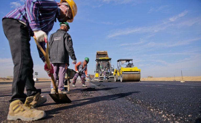 Капитальный ремонт асфальтовой дороги