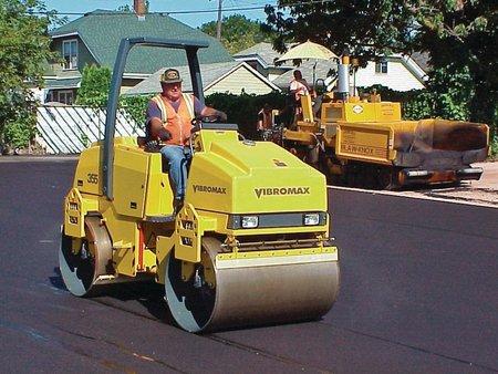 Каток дорожный VIBROMAX W365