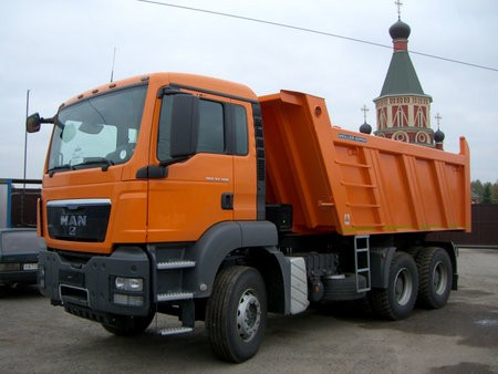 Самосвал MAN TGS 33.350 6x4 BB-WW