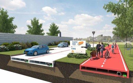 Инновации для строительства новых дорог