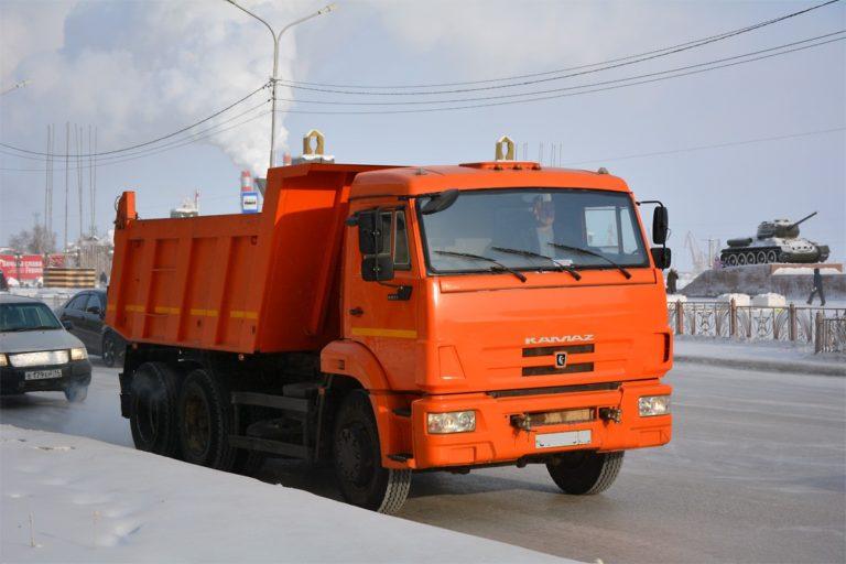 Самосвал КАМАЗ 65115-N3