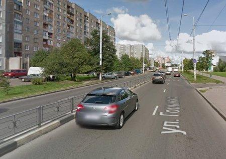 Калининград: На Горького начался ремонт второй стороны участка от Гайдара до Озерной