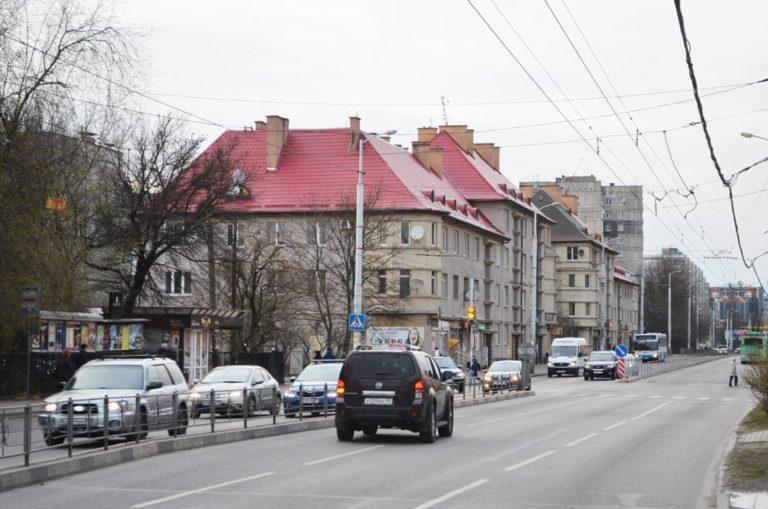 Ул. Горького, Калининград
