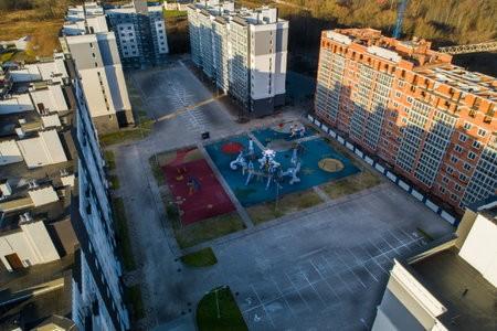 Благоустройство жилого комплекса на Суздальской