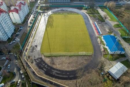 Благоустройство стадиона Локомотив